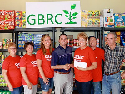 Greater Blackville Resource Centre volunteers with MLA Jake Stewart